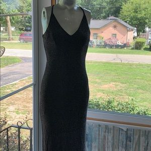Beautiful sparkly gown fits a size 6